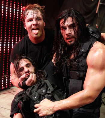 Reigns, the strong, silent big man for The Shield, had a few great matches of his own in developmental. Photo Courtesy of WWE.com