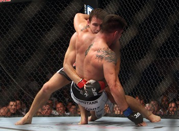 Brian Stann was out-wrestled by Michael Bisping, leaving many wondering if he is truly a top middleweight.