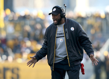 Tomlin will win fewer than nine games for the first time in his head coaching career.