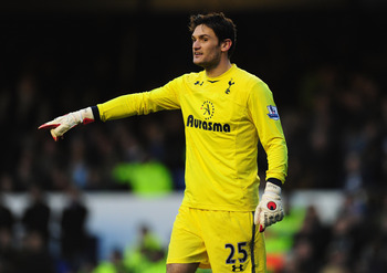 Tottenham goalkeeper Hugo Lloris barely featured in the 4-0 win at Aston Villa