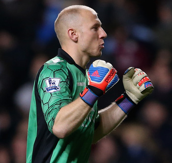 Brad Guzan has usurped Shay Given in the Aston Villa goal