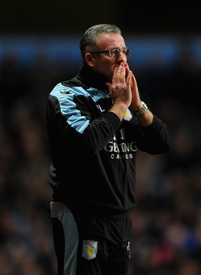 Paul Lambert is facing a worrying time at Aston Villa