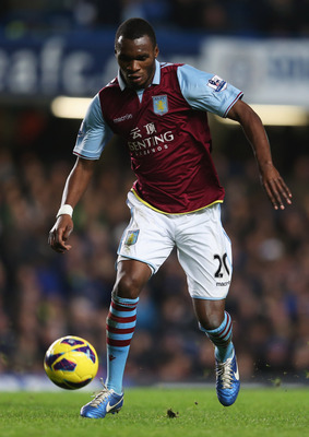 Christian Benteke ploughed a lone furrow for Aston Villa against Tottenham