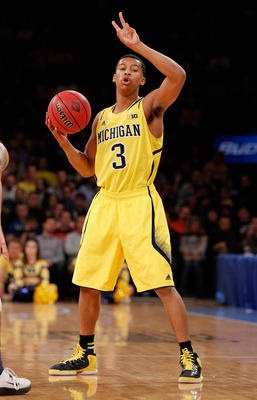 Trey Burke is currently averaging more than 17 points per game.