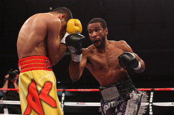 Lamont Peterson as AWOL in 2012.