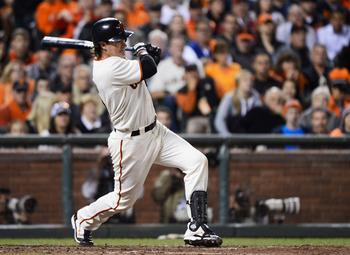 Aubrey Huff helped the San Francisco Giants win a World Series Title in 2012