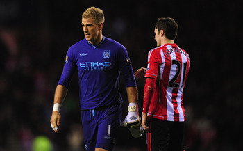 Joe Hart was at fault for Adam Johnson's winner for Sunderland.
