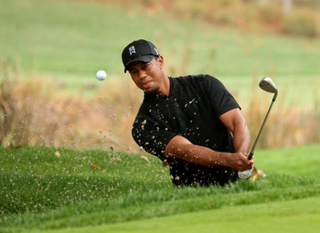 Tiger Woods didn't get it done in the final rounds of majors.