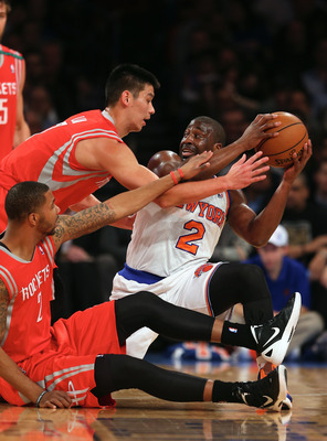 Lin's Rockets are now 2-0 against Felton's Knicks this season.