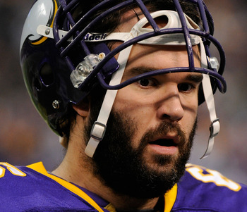 Sullivan has been the anchor to the Vikings offensive line this year.