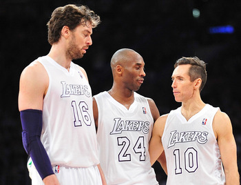 Paul Gasol, Kobe Bryant and Steve Nash have plenty of work to do.