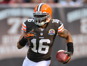 Soon to be free-agent Josh Cribbs
