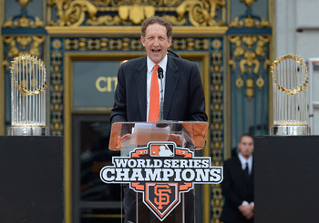 Larry Baer is the CEO of the Giants.