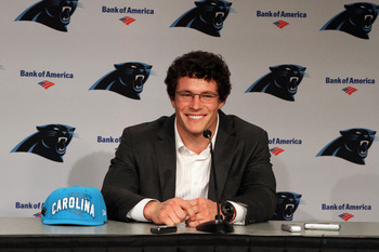 Kuechly has paid off nicely in his rookie year.  The Panthers need to strike gold again with 2013's first round pick.