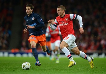 Podolski has a score to settle against Bayern