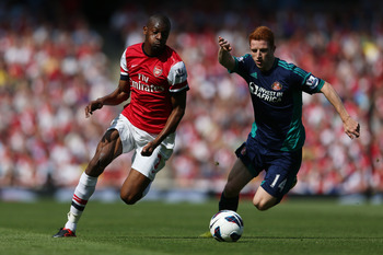 Abou Diaby was not able to stay fit for long.