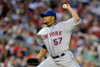 The 2013 salary for starting pitcher Johan Santana alone represents over a quarter of the Mets payroll for 2013.