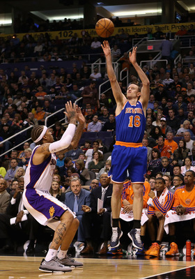 The Knicks' three-point prowess is a product of their great ball movement.