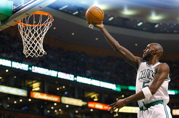 Garnett will continue to see better matchups as a power forward.