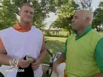 Using his actual name, Nick Nemeth, Ziggler was Kerwin White's (Chavo Guerrero) caddy. Photo Courtesy of 4.bp.blogspot.com