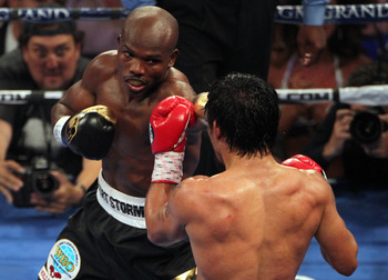 Bradley received a very early Christmas gift against Pacquiao.