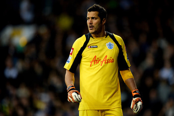 Goalkeeper Julio Cesar could return for QPR on Sunday