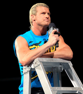Ziggler held on to his Money in the Bank Briefcase at TLC and now appears to be in cahoots with AJ Lee and Big E Langston. Photo Courtesy of WWE.com