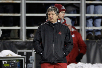 WSU coach Mike Leach
