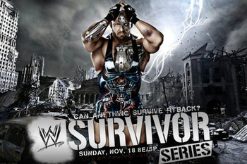 Survivor Series 2012 Promotional Poster (Courtesy of WWE.com)