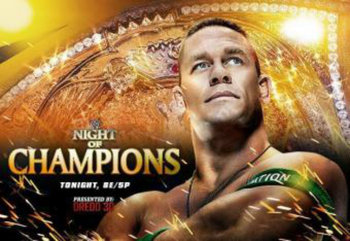 Night of Champions 2012 Promotional Poster (Courtesy of WWE.com)