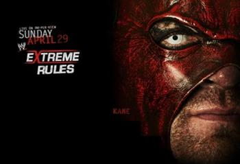 Extreme Rules 2012 Promotional Poster (Courtesy of WWE.com)