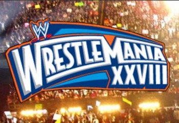 WrestleMania 28 Promotional Poster (Courtesy of WWE.com)