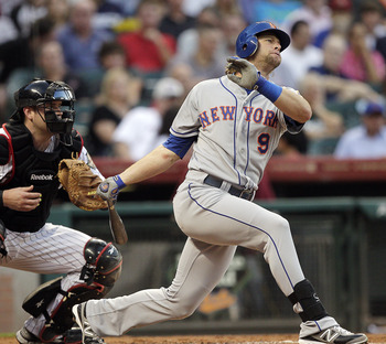 Kirk Nieuwenhuis showed unexpected production at the plate in 2012 and could be the Mets' Opening Day center fielder in 2013.