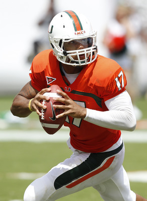 Morris will again lead the Hurricanes offense next year.