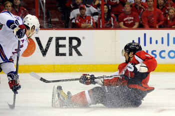 Alex Ovechkin can score in any situationjust ask the season simulation.