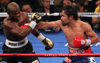 Timothy Bradley runs and dodges his way to a controversial decision victory over Pacquiao.