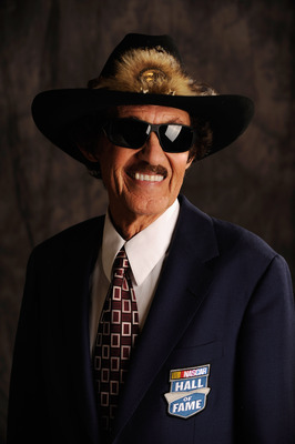 CHARLOTTE, NC - JANUARY 20:  NASCAR Hall of Fame member Richard Petty poses for a photo on January 20, 2012 in Charlotte, North Carolina.  (Photo by John Harrelson/Getty Images for NASCAR)