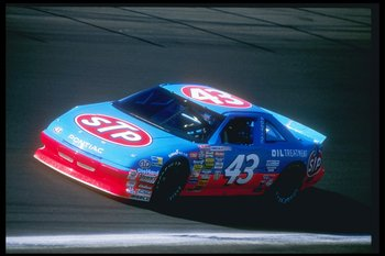The #43 STP Pontiac of Richard Petty in action during the Coca Cola 600 at the Charlotte Motor Speedway in Concord, North Carolina.