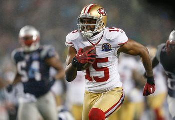 Michael Crabtree is the 49ers' most reliable receiver.