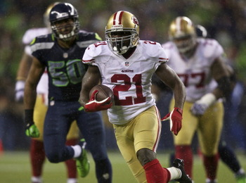 Frank Gore is in his eighth NFL season.