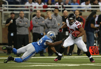 After missing in action, Michael Turner and the Falcons run attack is back in the game.