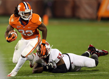 Andre Ellington should challenge Montee Ball to be the first senior back selected.