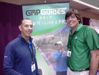 Chip Beck and his wife Karen developed Grip Guides.