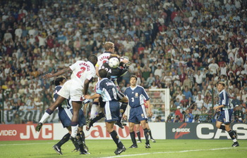 What Could Have Been: Campbell's goal was ruled out for Shearer's Foul