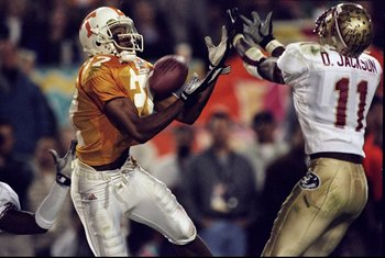 Peerless Price was one of the heroes for the Vols against FSU.