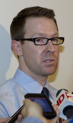 Oklahoma City general manager Sam Presti.