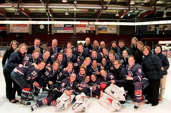 Obtained from USA Women's Hockey Facebook page http://www.facebook.com/media/set/?set=a.10152222804400293.919632.62768135292&type=1#!/uswomenshockey