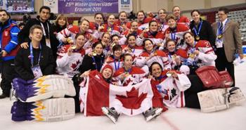 Canada will look to repeat the gold medal win of 2011 (Image from York Lions site http://www.yorkulions.ca/landing/index)