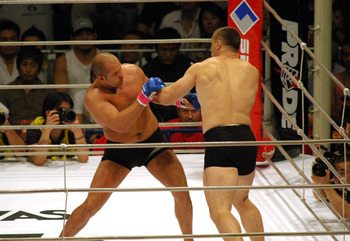 Emelianenko out-lasted Mirko Cro Cop to secure one of the biggest victories of his career.