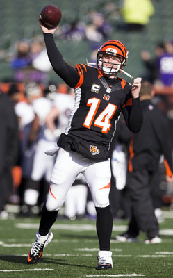 Andy Dalton did not have a great game against Baltimore, but did produce the Bengals only offensive touchdown.